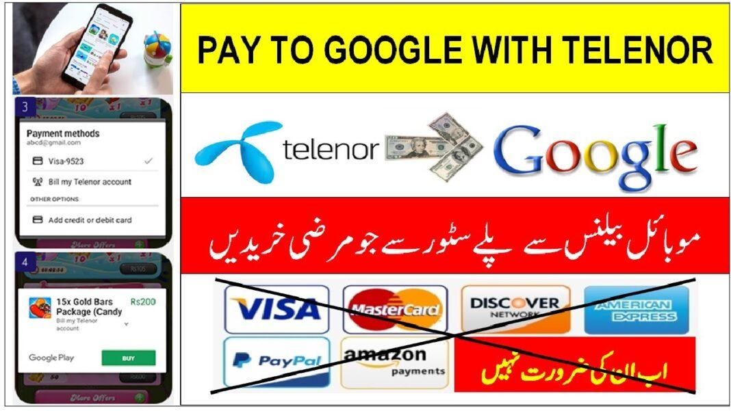 How to Buy Apps on Google Play via Telenor