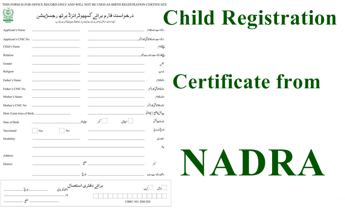 All You Need to Know About Getting a Child Registration Certificate from NADRA